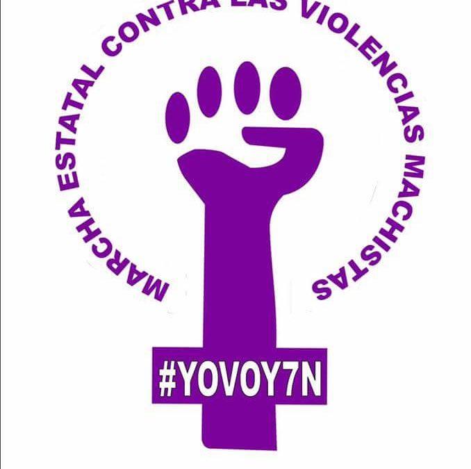 7N-MARCHA ESTATAL CONTRA LAS VIOLENCIAS MACHISTAS