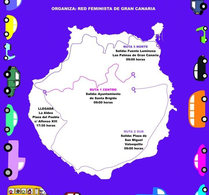 28N: CARAVANA VIOLETA CONTRA LAS VIOLENCIAS MACHISTAS