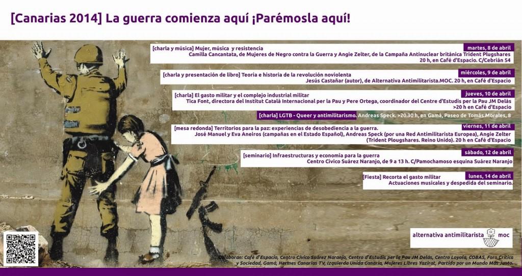 """Reflexiones de """"una Mujer Libre"""" sobre el Seminario """"INFRAESTRUCTURAS Y ECONOMÍA PARA LA GUERRA"""" La guerra comienza aquí. ¡Parémosla aquí!"""